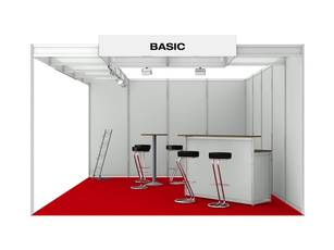 Messestand Basic