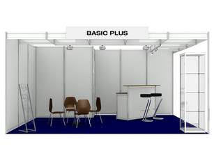 Messestand Basic Plus