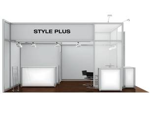 Messestand Style Plus